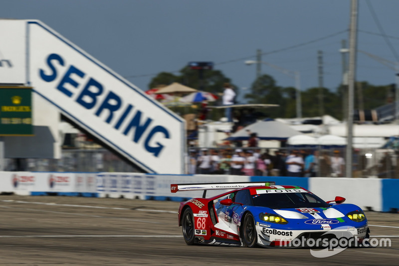 #68 Ford Performance Chip Ganassi Racing, Ford GT: Stefan Mücke, Olivier Pla, Billy Johnson