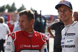 Tom Kristensen en Brendon Hartley
