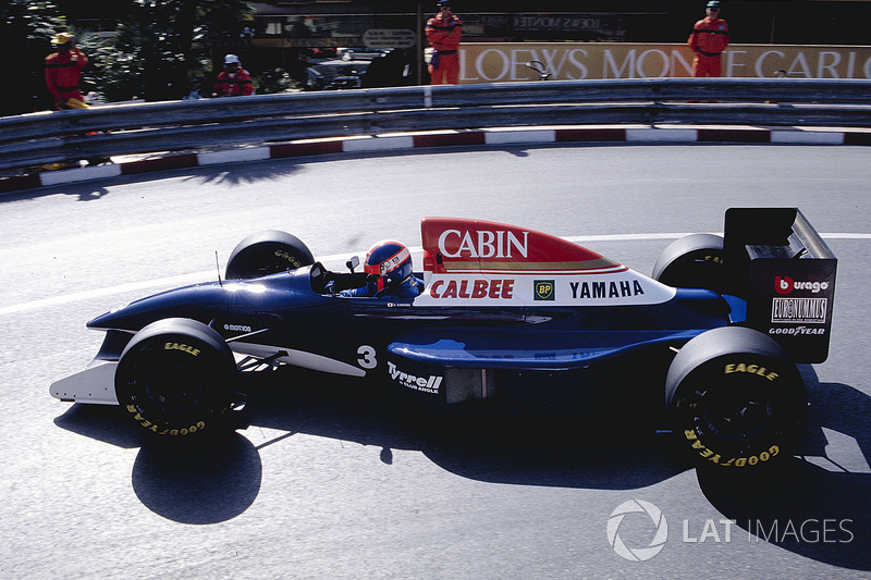 6.Ukyo Katayama, 95 GPs (1992-1997). Seu melhor resultado é o 5° (Brasil 1994 e San Marino 1994).
