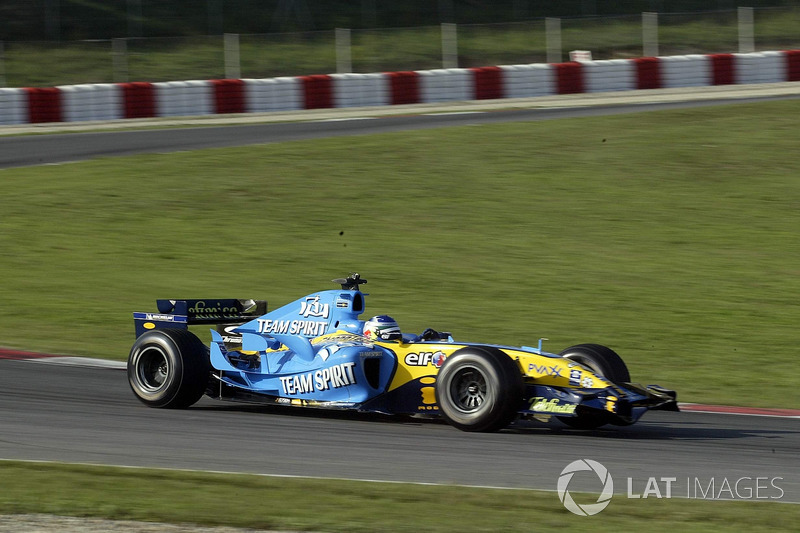 Carlos Sainz im Renault R25