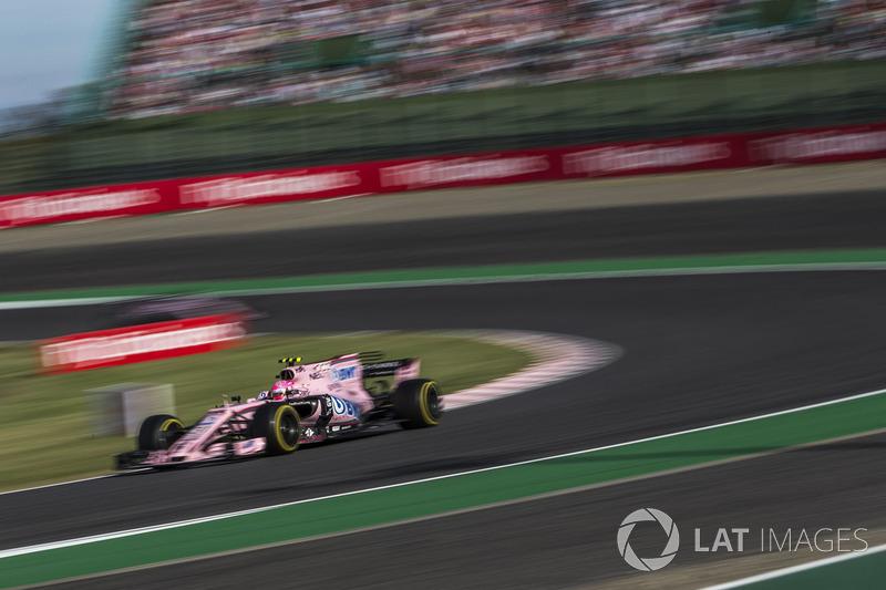 6e : Esteban Ocon (Force India)