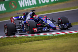 Pierre Gasly, Scuderia Toro Rosso STR12 nat Formula One World Championship, Rd16, Japanese Grand Prix, Qualifying, Suzuka, Japan, Saturday 7 October 2017.