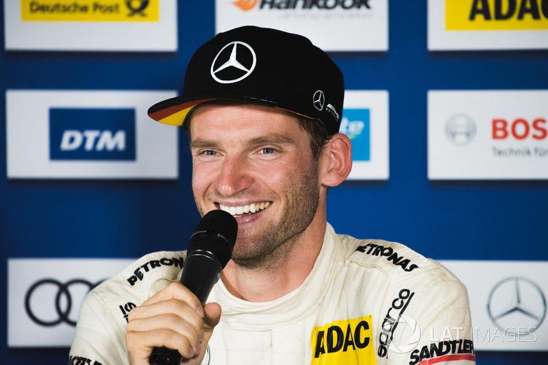 Conferencia de prensa: Maro Engel, Mercedes-AMG Team HWA, Mercedes-AMG C63 DTM