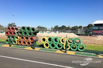 澳大利亚大奖赛准备工作