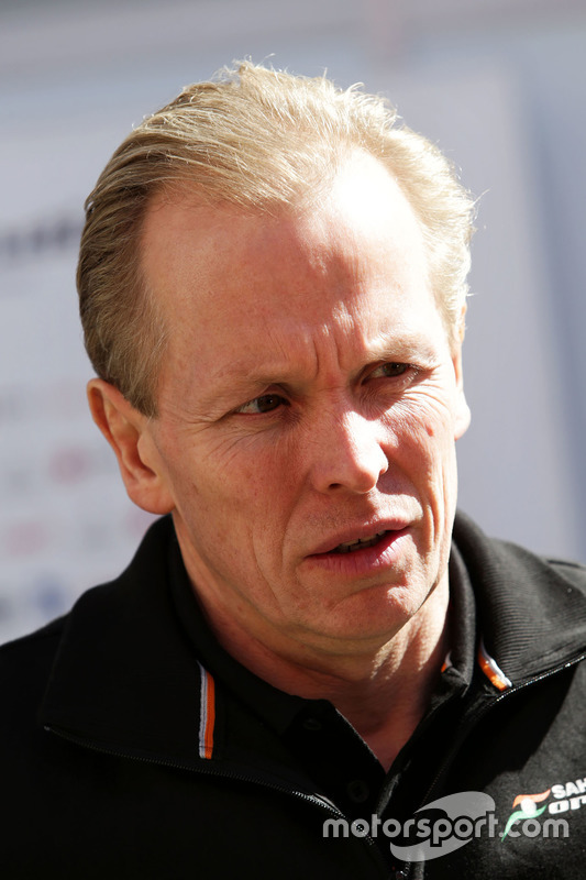 Andrew Green, Sahara Force India F1 Team, Technikchef