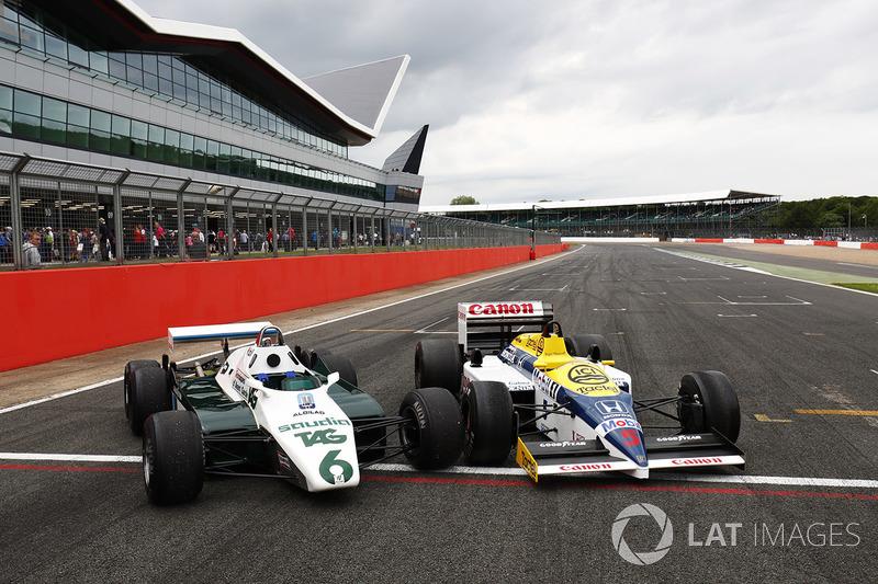 Williams FW11 Honda, FW08 Cosworth