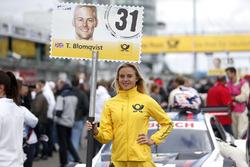 Grid kızı, Tom Blomqvist, BMW Team RBM, BMW M4 DTM