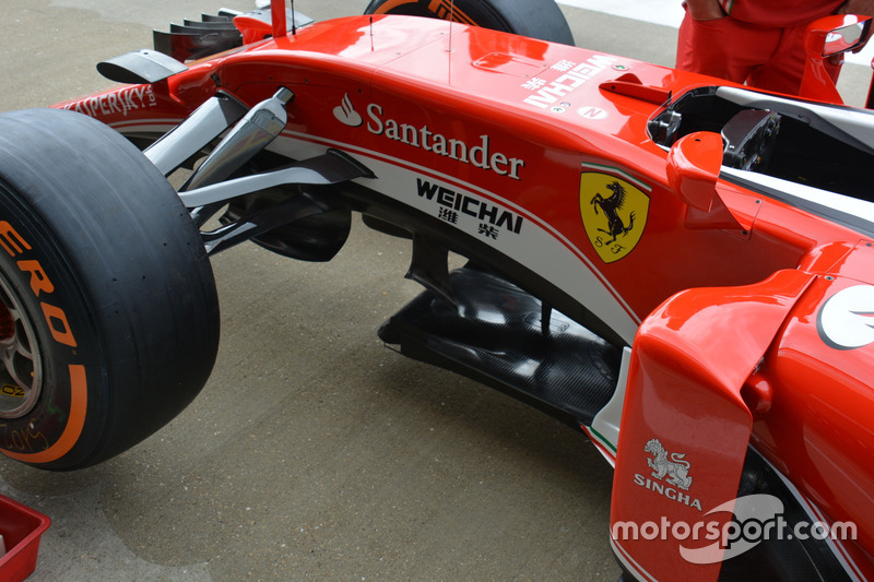 Передняя часть Ferrari SF16-H