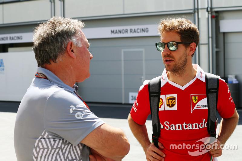 Dave Ryan, Manor Racing Racing con Sebastian Vettel, Ferrari