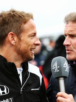 (Зліва направо): Дженсон Баттон, McLaren та Девід Култхард, Red Bull Racing and Scuderia Toro Rosso