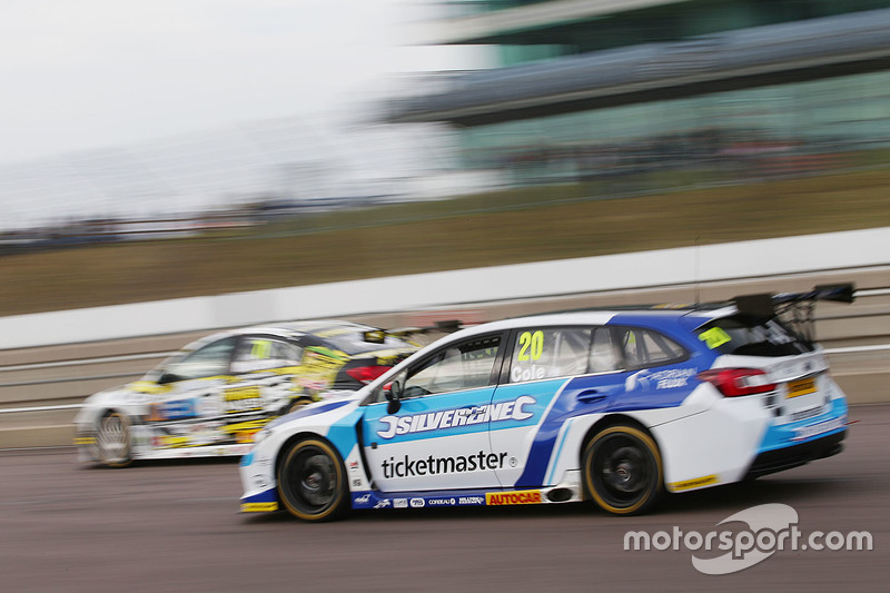 James Cole, Silverline Subaru BMR Racing