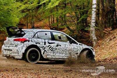 Tests de la Hyundai i20 R5 WRC
