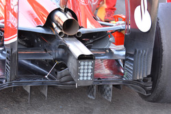 Ferrari SF16-H: Heck