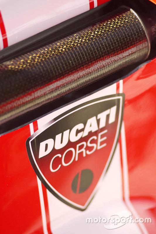 Gros plan sur la Ducati