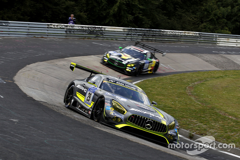 #29 AMG-Team HTP Motorsport, Mercedes-AMG GT3: Christian Vietoris, Marco Seefried, Christian Hohenad