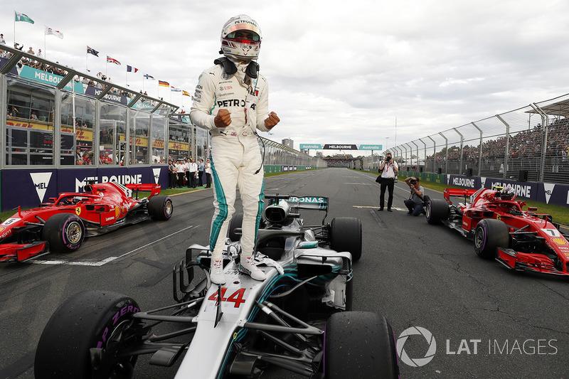La primera pole del año, para Lewis