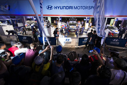 Team area Hyundai Motorsport