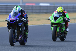 SS600: Anthony West, Webike IKAZUCHI Racing dan Azlan Shah, Manual Tech KYT Kawasaki Racing