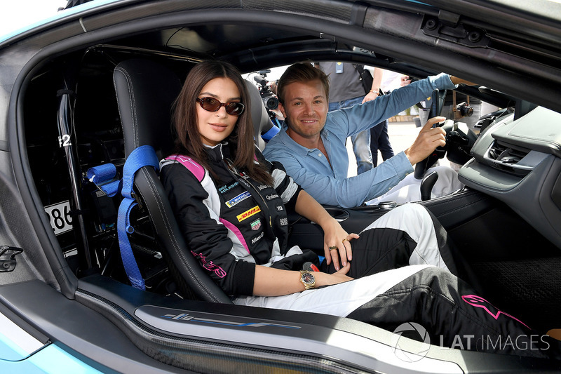 Emily Ratajkowski, Nico Rosberg