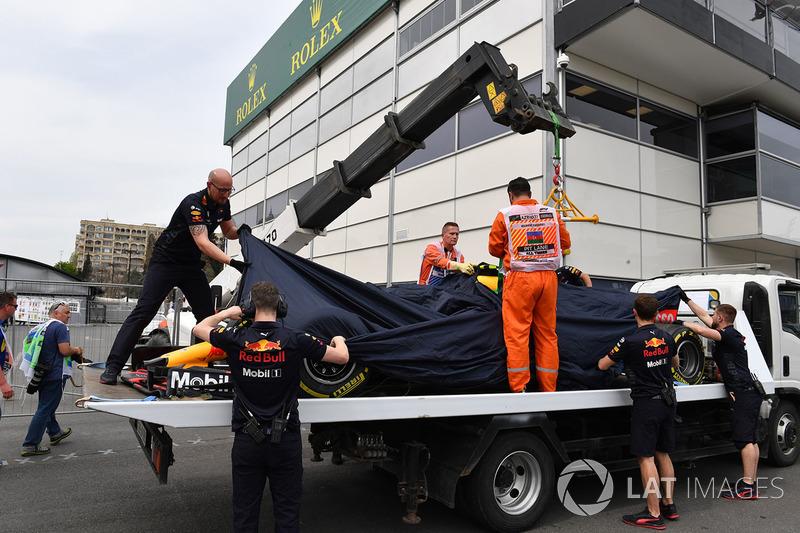 سيارة ماكس فيرشتابن، ريد بُل ريسينغ بعد الحادث