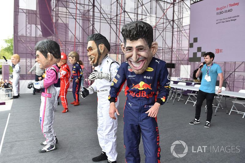 Кукла Даниэля Риккардо, Red Bull Racing