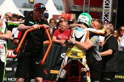 Race winner Luca Grunwald