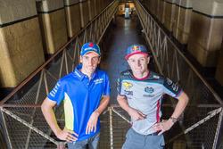 Джек Миллер, Estrella Galicia 0,0 Marc VDS, и Алекс Ринс, Team Suzuki MotoGP: посещение Старой тюрьмы Мельбурна