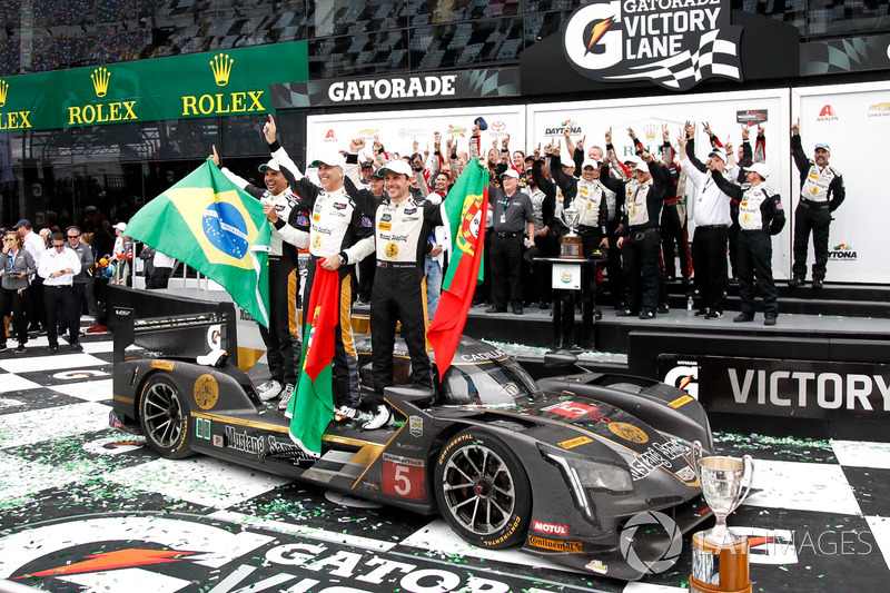 Ganadores carrera Joao Barbosa, Christian Fittipaldi, Filipe Albuquerque, Action Express Racing