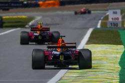 Max Verstappen, Red Bull Racing RB13 and Daniel Ricciardo, Red Bull Racing RB13