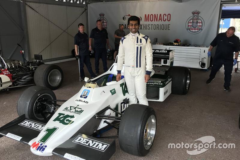 Карун Чандок, Williams FW08C