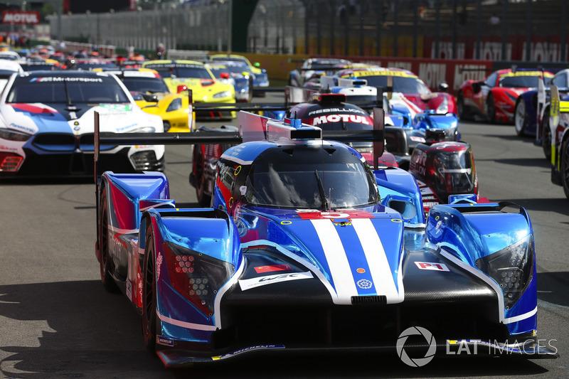 Автомобиль Ginetta G60-LT-P1 (№5) команды CEFC TRSM Racing