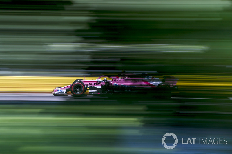 9. Esteban Ocon, Force India VJM11