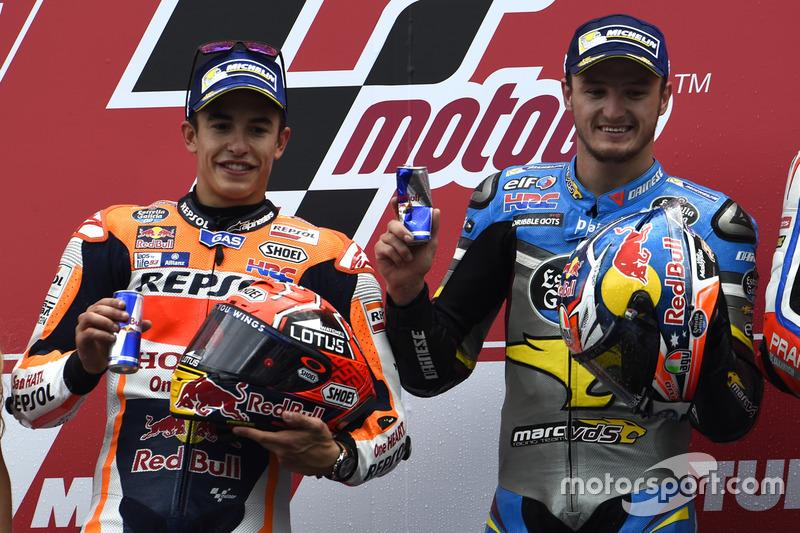 Podyum: 1. Jack Miller, Marc VDS Racing Honda, 2. Marc Marquez, Repsol Honda Team