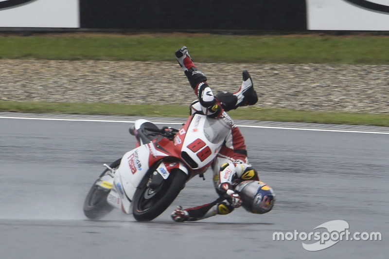 Incidente di Khairul Idham Pawi, Honda Team Asia