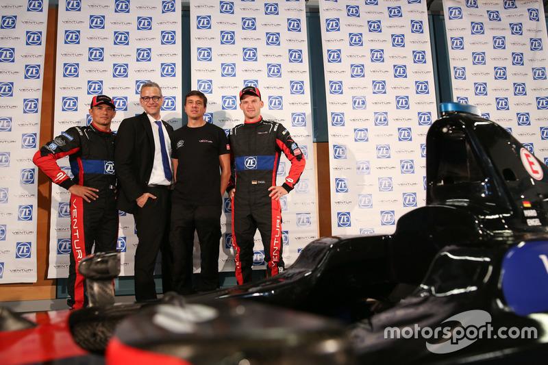 Stephane Sarrazin e Maro Engel,  Venturi Formula E Team