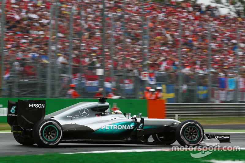 9º Lewis Hamilton, Mercedes AMG F1 W07; Monza 2016: 257,038 km/h