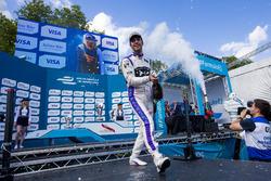 Podio: il terzo classificato Jean-Eric Vergne, DS Virgin Racing