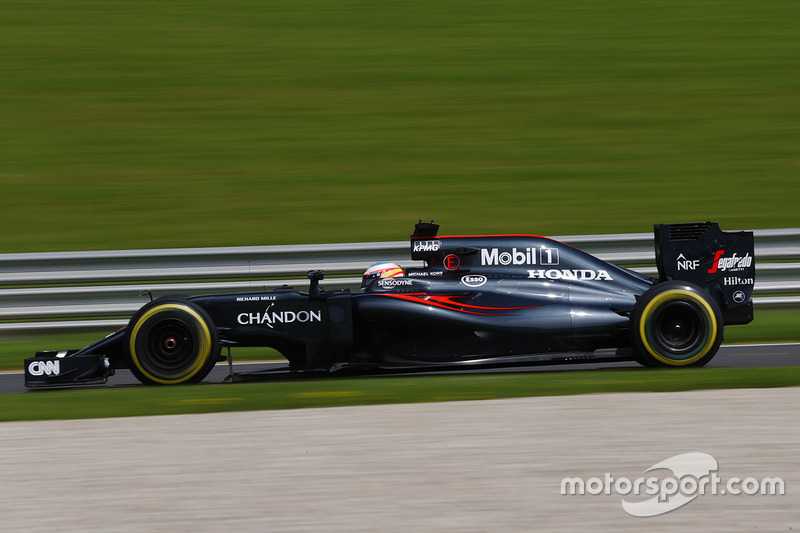 14. Fernando Alonso, McLaren MP4-31
