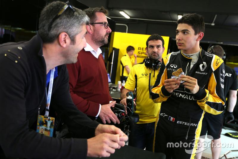 Esteban Ocon, Third Driver, Renault Sport F1 Team