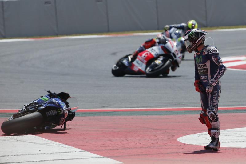 Caída de Jorge Lorenzo, Yamaha Factory Racing