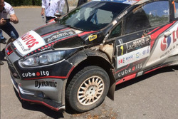 Kajetan Kajetanowicz, Ford Fiesta R5, incidente