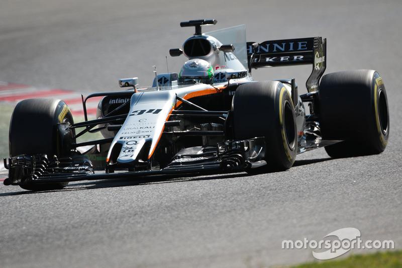 Alfonso Celis Jr., Sahara Force India F1 VJM10 Development Driver