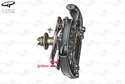 Ferrari SF16-H movimiento del embrague
