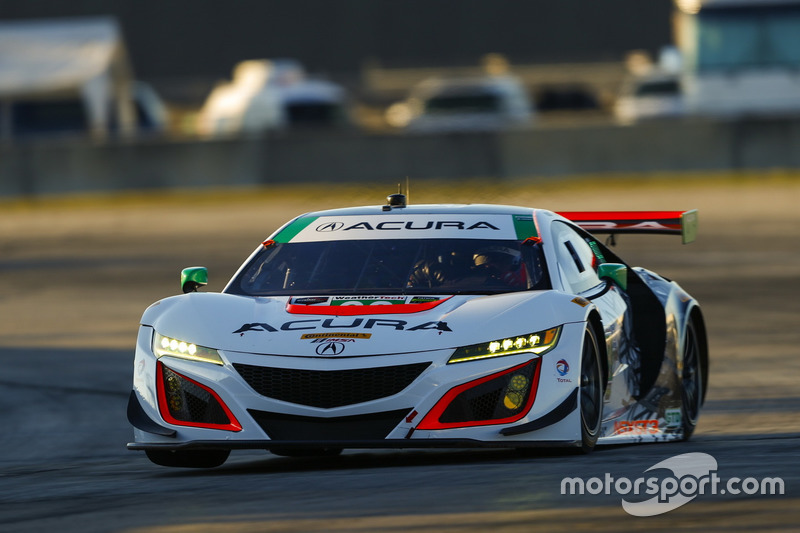 #93 Michael Shank Racing, Acura NSX: Andy Lally, Katherine Legge, Mark Wilkins