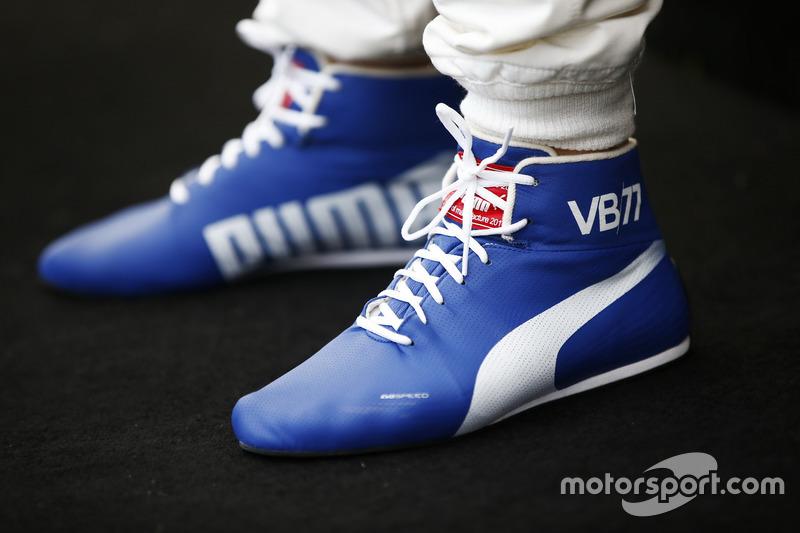Botas de carrera de Valtteri Bottas, Mercedes AMG