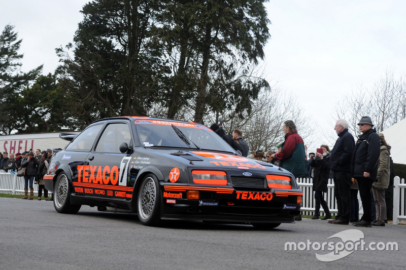 Ford Sierra RS 500, Ford Texaco Eggenberger Racing Team