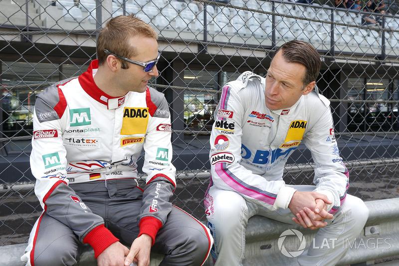 #2 Montaplast by Land-Motorsport, Audi R8 LMS: Christopher Haase und #25 BWT Mücke Motorsport, Audi R8 LMS: Frank Stippler
