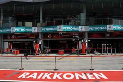 Garage of Kimi Raikkonen, Ferrari