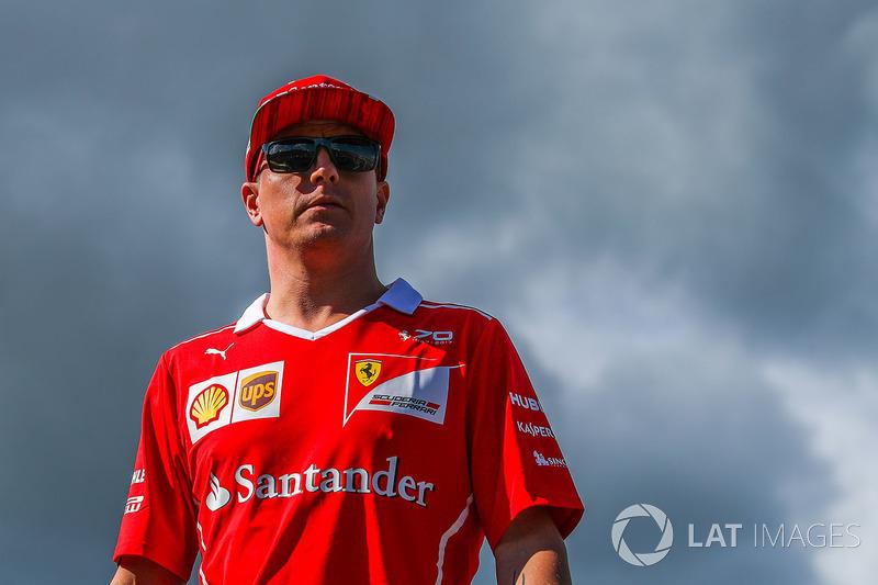 Кими Райкконен, Ferrari – за