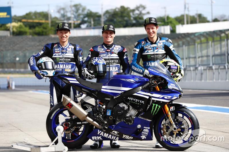 #7 YART Yamaha: Broc Parkes, Marvin Fritz, Kohta Nozane